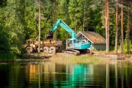 копка котлованов, озер, прудов, искусственных водоемов